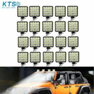 20X 48W 12V LED Work Light Flood Light OffRoad Driving SUV Boat Tractor /Spot