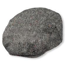 Childrens Place Nubby Tweed Newsboy Cap Hat Black Size 6-12 months