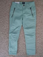 New*Gap Girl's Pants in Size 6*Skinny Fit*Coupe Moulante*GapKids*Vintage Green