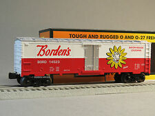 MTH RAIL KING BORDEN'S MODERN REEFER CAR O GAUGE train milk elsie 30-78188 NEW
