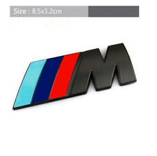 BMW M-Sport Chrome Car Badge 3D Self-adhesive Boot/Trunk Premium Logo Emblem BK