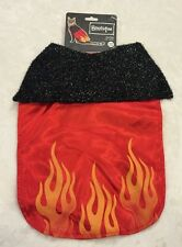 Devilish Cat Cape - One Size - Red Fire - Adjustable Neck - Bootique - NWT