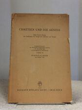 Chretien und die Aeneis By Werner Ziltener- 1957