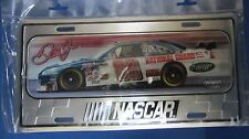 NEW 2008 DALE EARNHARDT JR METAL LICENSE PLATE  NATIONAL GUARD 12 X 6 INCHES