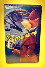 BASIL L'INVESTIGATOPO cartone Walt Disney VHS video offerta X idea regalo 2018