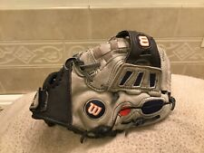"Wilson A425 10.5"" Blue Youth Baseball  Softball Glove Right Hand Throw"