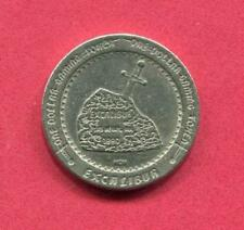 1.00 Casino Slot Token - Las Vegas NV - 1990 - Excalibur -