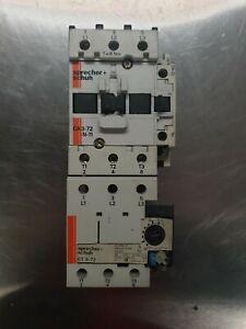 Sprecher Schuh CA3-72-N-11 Contactor & CT 3-72 Overload Relay