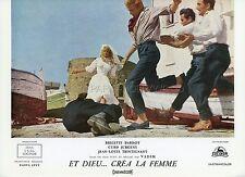 BRIGITTE BARDOT ET DIEU CREA LA FEMME 1956 VINTAGE LOBBY CARD ORIGINAL #7