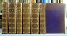 Edgar Allan Poe, gesammelte Werke. 1922. Ganzleder Handeinbände. Nr.30 v.50