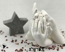 Best on eBay, Family Hand Casting Kit Alginate Plaster Kits Hand Mould,
