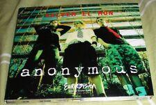 2007 ANDORRA EUROVISION ENTRY SALVEM EL MON - ANONYMOUS CD SINGLE