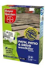 Bayer Garden Path Patio and Drive Weedkiller Strong Weedkiller 6x 8g sachets