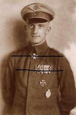 WWI Pour-le-Merite Ace Lothar von Richthofen Sanke Photo Jasta Albatros Fokker