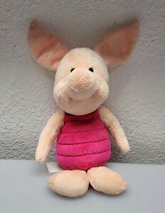 "Disney Plush Pink Core Piglet Winnie Pooh Friend Soft Stuffed Animal Toy 13"""