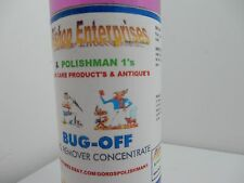 BUG OFF/ALUMINUM,CHROME,PAINT,& GLASS/ GORD'S POLISHMAN1'S 8-OZ INCLS.