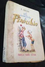 C. Collodi  Le avventure di Pinocchio  Fabbri ill. Maraja 1957
