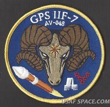 GPS IIF-7 CAPELLA ATLAS V USAF ULA 5 SLS CCAFS SATELLITE Launch SPACE PATCH