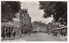 Göppingen marktstrasse einkaufsstrasse negocios drogeri, pieles, coches 1943