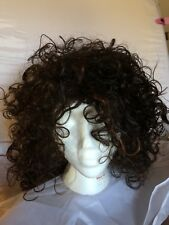 BEAUTIFUL Long Dark Brown / Brunette Red Highlights ~curly~ Excellent Shape