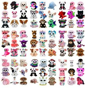 Official TY Beanie Boos 6'' Soft Plush Toys over 100 styles