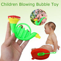 2 in 1 Water Blowing Toys Bubble Soap Blower Kids Child Summer Outdoor   !