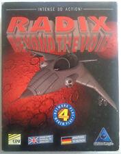 Radix Beyound the Void (CDV) PC MS DOS BIGBOX Manuel SUPER RARE