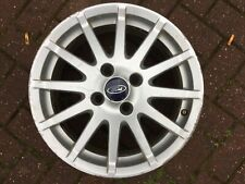 "Ford Fiesta Zetec S MK6 MK7 16 "" BORBET Lega Ruota 4S6J1007AA Ricambio Originale"