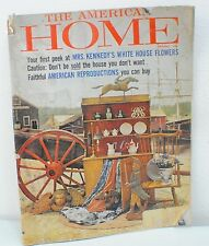 The American Home Magazine -  Mrs. Kenndy's White House Flowers (Oct. 1961)