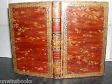 MADAME SOPHIE COTTIN Elizabeth 1817 FULL LEATHER Exiles of SIBERIA Fine Engraved