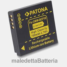 DMW-BCF10E Batteria PATONA per Panasonic Lumix DMC DMC-FP8 DMC-FS11 DMC-FS12 OT2