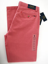 """new mens ralph lauren polo """"classic fit"""" golf style chinos trousers W33 L32"""
