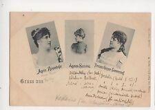 Marie Reisenhofer / Agnes Sorma Teresina Sommerstorff Gruss Opera Postcard 673b