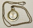 Waldman Antimagnetic (T Swiss Made) Woman's  Necklace Watch  / Working Running
