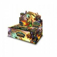 World of Warcraft TCG Tomb of the Forgotten SEALED Booster Box Cryptozoic
