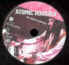 Atomic Rooster Ultimate Anthology DVD Classic Rock Gods Beat Club NO CASE