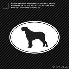 Spinone Italiano Euro Oval Sticker Die Cut Decal Adhesive Vinyl dog canine pet