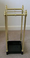 Italian Cast Brass Umbrella Stand