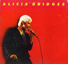 ALICIA BRIDGES play it as it lays 2391 415 A2/B1 promo sleeve 1979 LP PS EX+/EX
