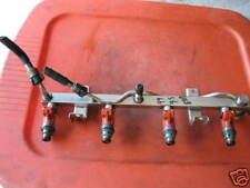 01 02 03 00 05-99 saab 9-5 2.3 turbo fuel injector rail 0280155749