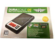 MyWeigh DURASCALE D2 Digital Pocket Scale 300g x 0.01g Capacity! Tough Design!