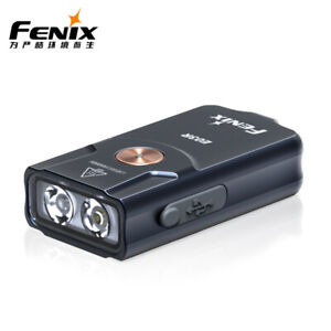 Fenix E03R Keychain LED Flashlight USB Rechargeable White Red Light 260LM Metal