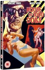 House Of 1000 Dolls Dvd Vincent Price Brand New & Factory Sealed