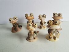 Shell People Rockband handmade out of real shells Vintage