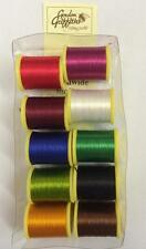 Gordon Griffiths 10 Mixed Spools of Nylon Trout Floss