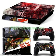 Kill la Kill Anime Girl Ryuko Matoi Vinyl Skin Sticker Decal Protector PS4