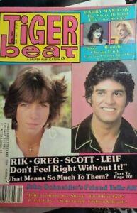 Tiger Beat Magazine April 1980- Kiss, Barry Manilow, Leif Garrett