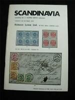 ROBSON LOWE AUCTION CATALOGUE 1970 SCANDINAVIA 'BIRCH' COLLECTION