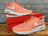 NIKE LADIES UK 7.5 EU 42 AIR MAX THEA PREMIUM CRIMSON BLISS TRAINERS T