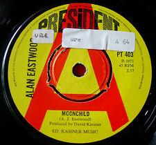 "Alan James Eastwood Moonchild 7""UK PROMO'73 Folk/Funk President Red Shoe..VINYL"
